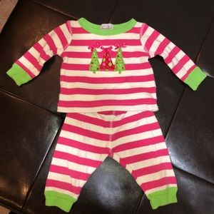 Mud Pie Baby Christmas Pajamas